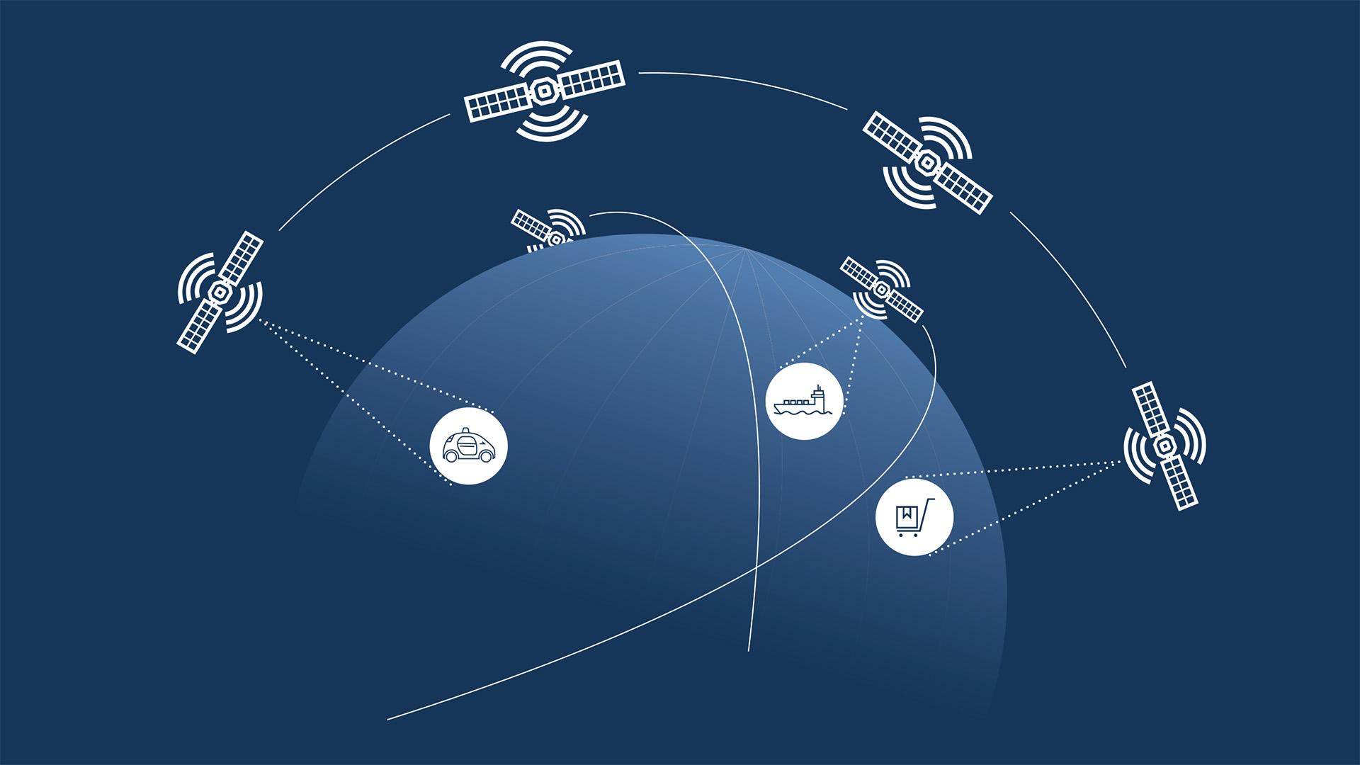 Deutsche bauen intelligentes Netzwerk im All